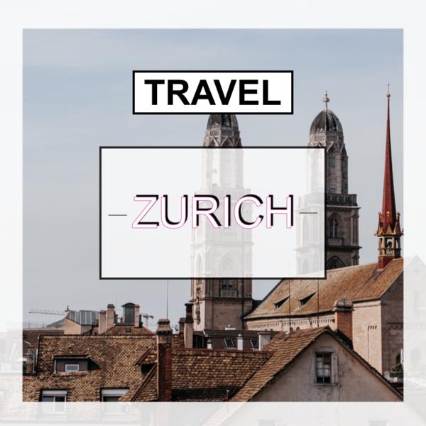 スイス、旅行、チューリッヒ