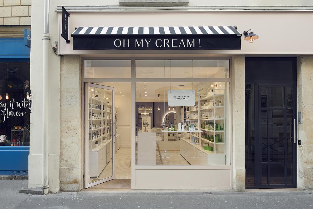 ショッピング、パリ、oh my cream!